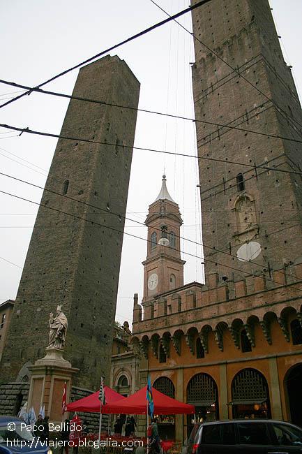 Las dos torres. � Paco Bellido, 2007