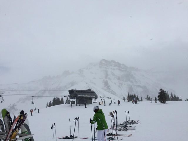 土, 2016-01-30 13:50 - 12番リフト上からPalmyra Peak