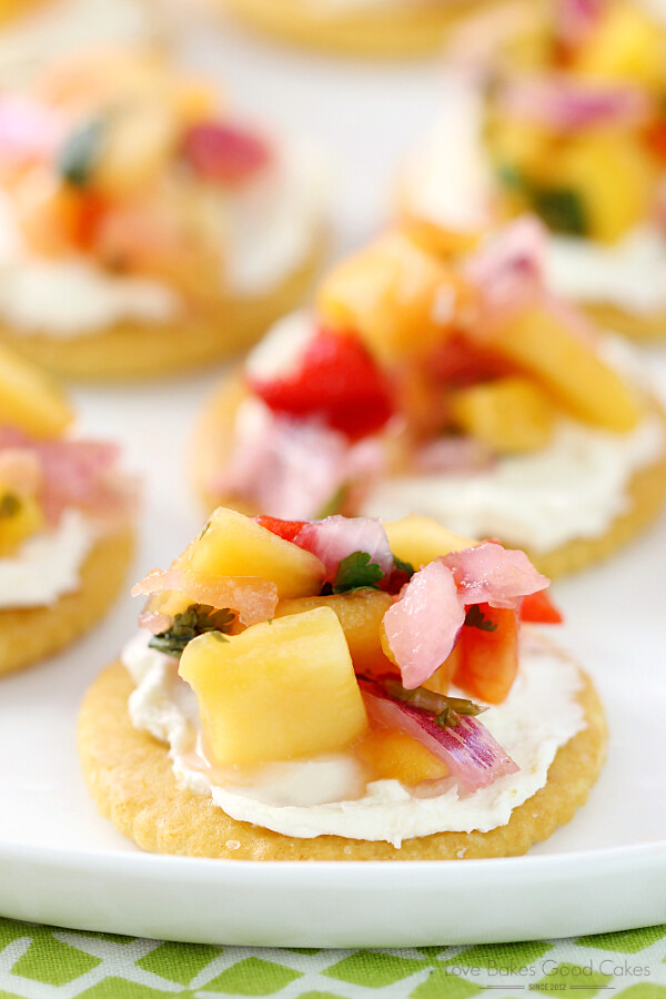 "Cream Cheese & Mango Salsa RITZwich - ""Stack It Up"" with RITZwiches AD"