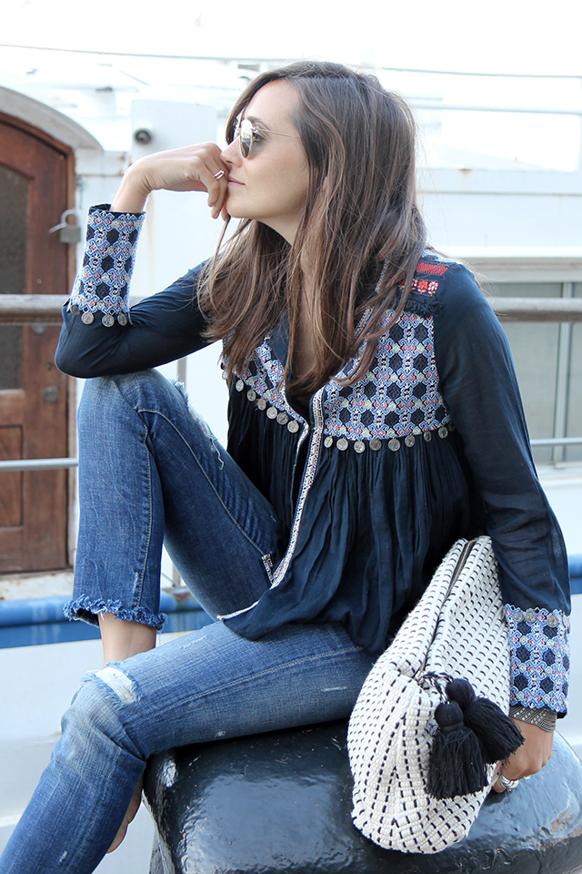 hippie blouse coohuco