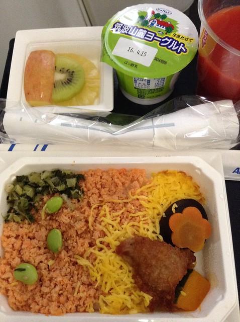 ANA NH10 breakfast