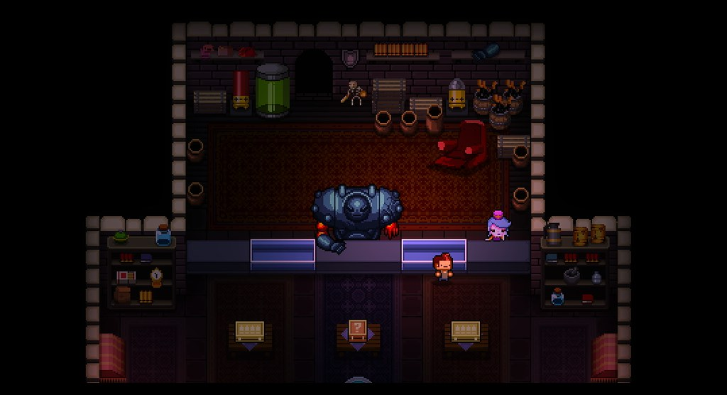 Enter the Gungeon on PS4