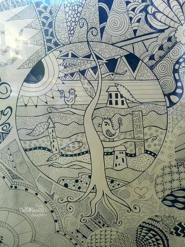quadro zentangle 8