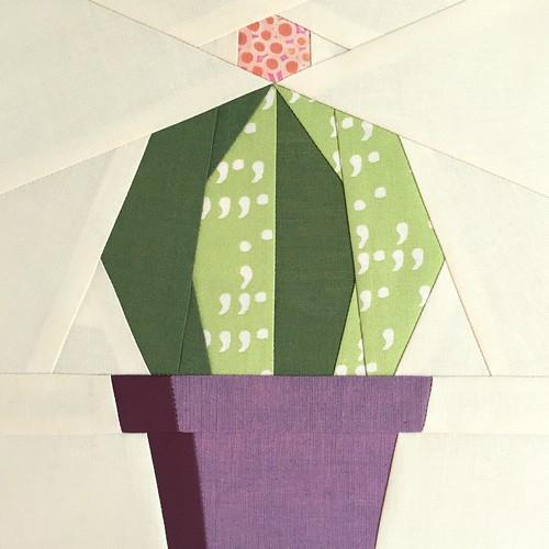Echino Paper Piece Pattern