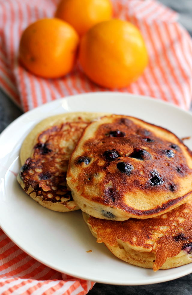 Ultimate Blueberry Pancakes