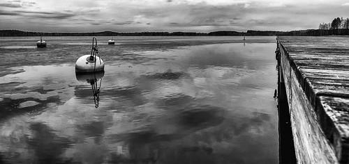lake canon blackwhite spring dock 1d ballard 14mm samyang