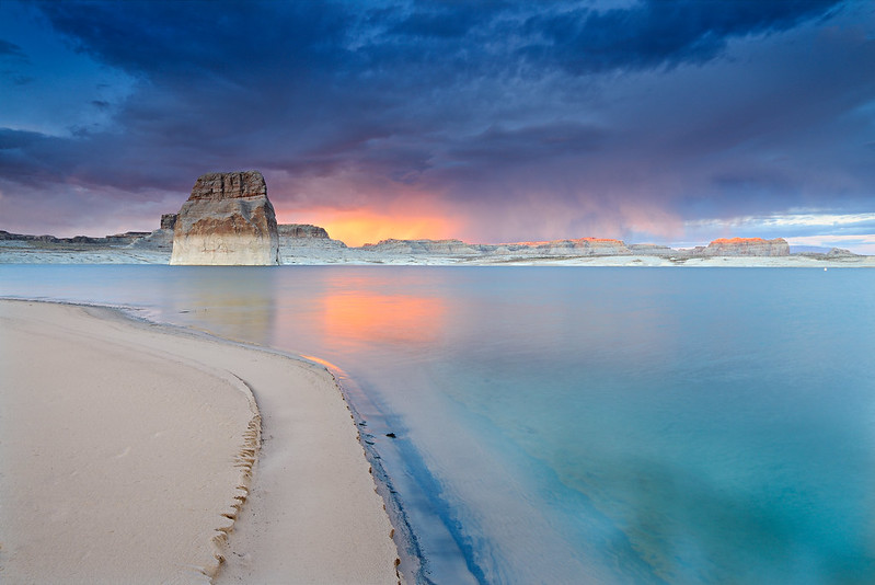 Lake Powell Clearing Storm