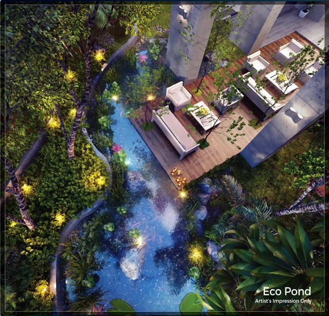 Sunway Mont Residences - Eco Pond