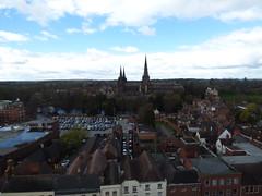 Spire Climb - St Mary's in the Market Square, Lichfield - Lichfield Cathedral