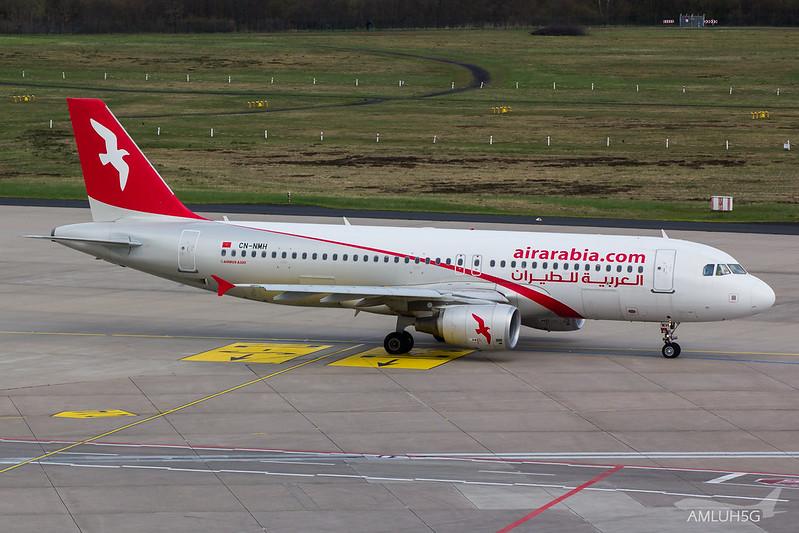 Air Arabia - A320 - CN-NMH (1)