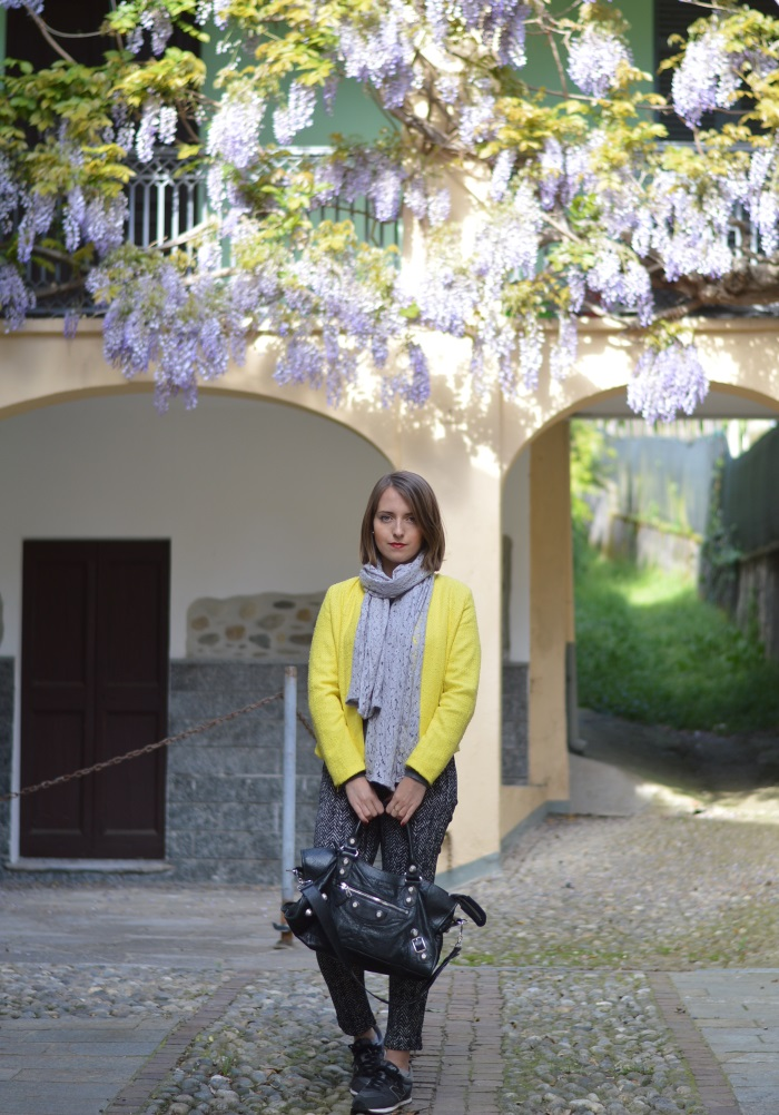 wisteria, glicine, wildflower girl, blazer, giallo (14)