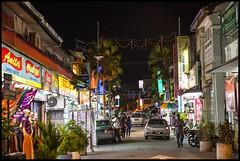 Penang shopping at night-1=
