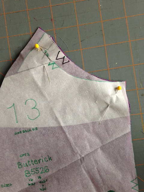Butterick 5526 with a broad back adjustment