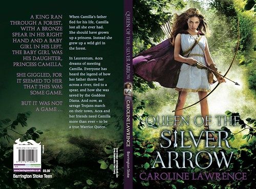 Caroline Lawrence, Queen of the Silver Arrow
