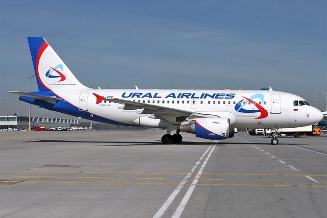 VP-BTE A319 Ural Airlines