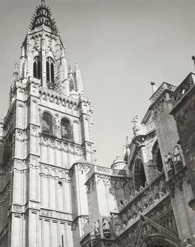 Catedral de Toledo el 24 de enero de 1983. Fotografía de Andy Warhol © The Andy Warhol Foundation for the Visual Arts, Inc.