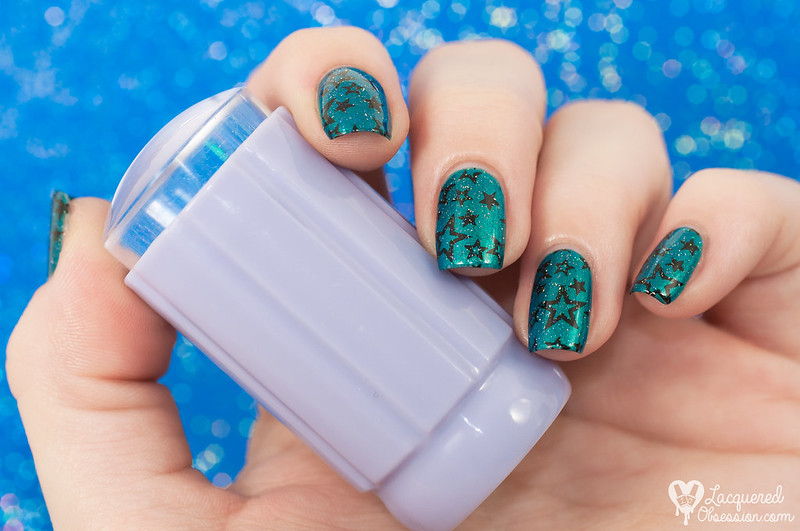 Crystal Clear stamper by B. Loves Plates
