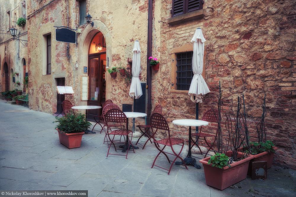 Old European town street