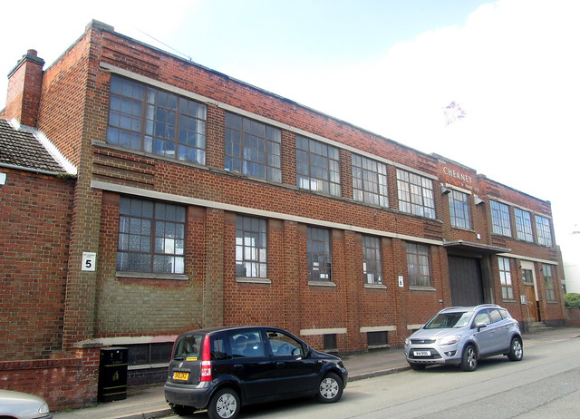 Art Deco Factory, Desborough