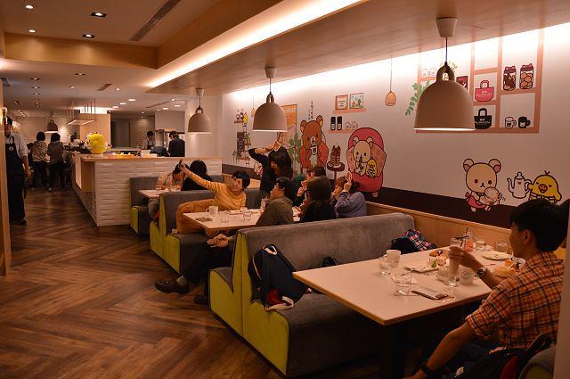 拉拉熊主題餐廳11