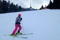 SNOWtour 2015/16: Ještěd - tramvají na večerní lyžování
