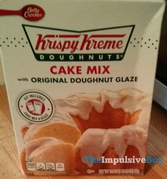 SPOTTED ON SHELVES: Betty Crocker Krispy Kreme Doughnuts Cake Mix