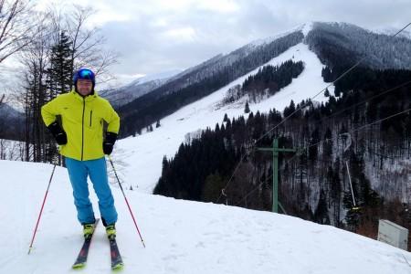 SNOWtour 2015/16: Vrátna – ráno na Paseky, v poledne na Gruň