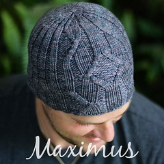 Maximus Hat pattern by Truly Myrtle Designs