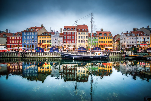 Reflections of Nyhavn