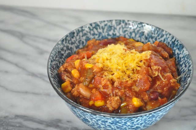 Kick Ass Turkey Chili