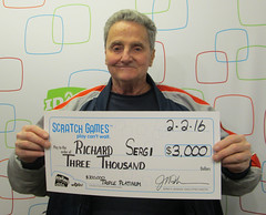 Richard Sergi - $3,000 $300,000 Triple Platinum