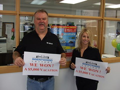 Vacation Winners: Kevin & Carol Turner