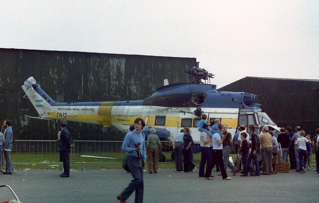 PA-12 SA-330L Puma Ex Perfectura Naval Argentina