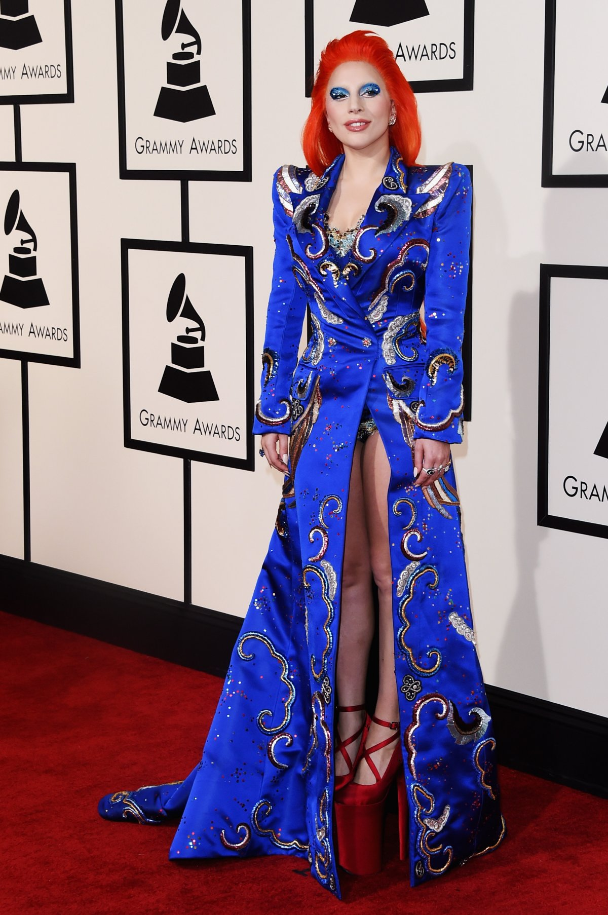 Lady Gaga Grammys 2016 Best Dressed Celebrities