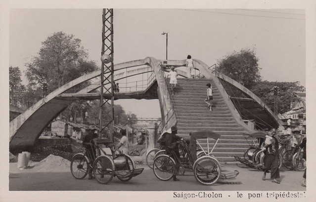 SAIGON - CHOLON - LE PONT TRIPIEDESTAL 1965 - Cầu Ba Cẳng