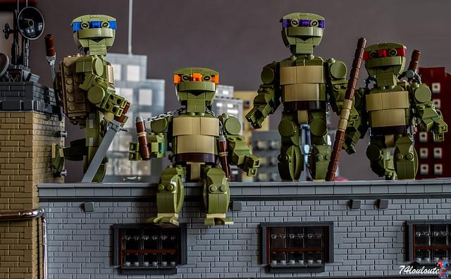 Afficher le sujet moc tortues ninja protecteurs de la nuit - Je suis absente du bureau ...