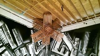 copper star, installed