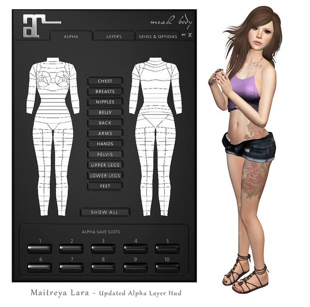 Updated Maitreya Lara Hud