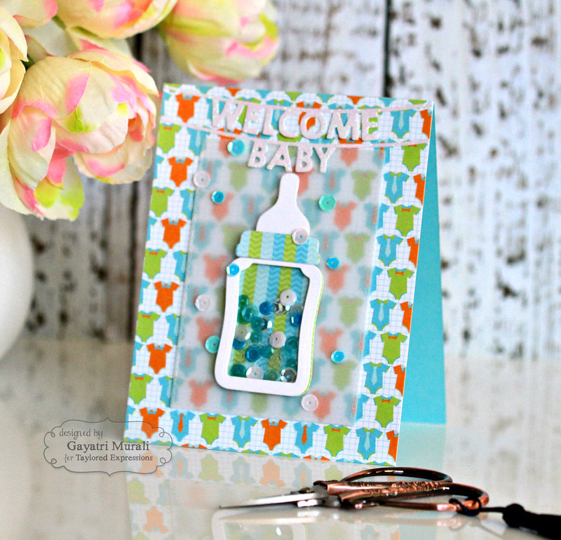 Welcome baby boy's card