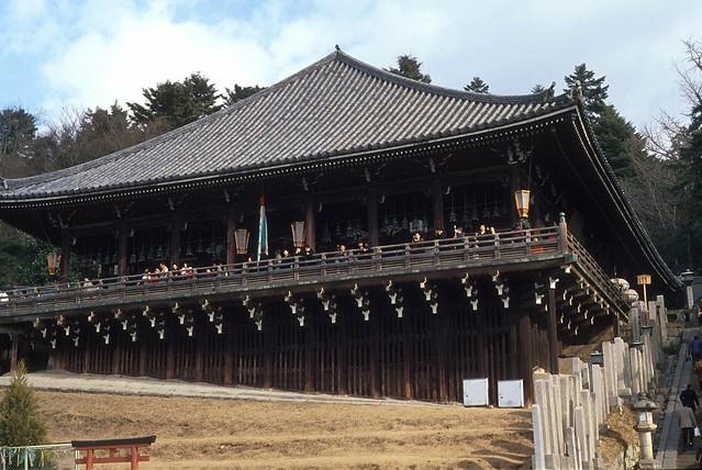 Nigatsudo of Todaiji, Nara