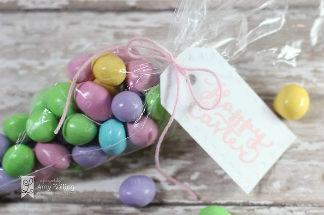 Amy - Embossed Dots Tags