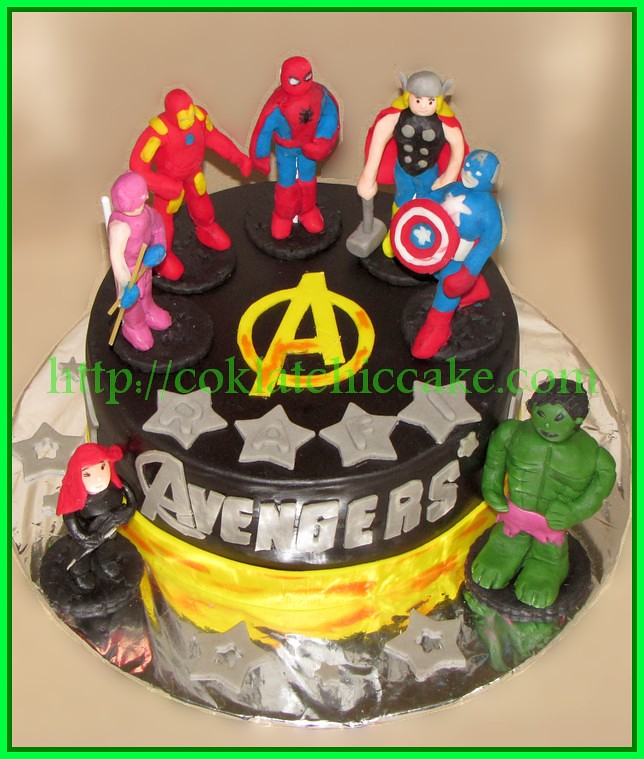 Cake The Avengers
