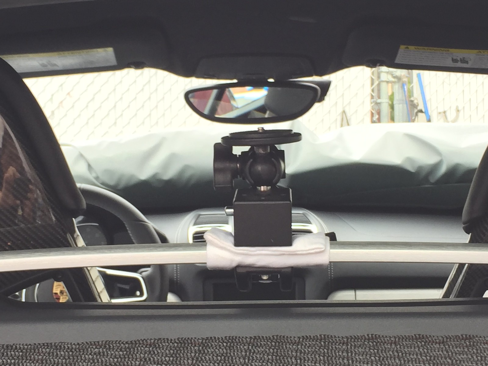 Camera Mount Solution On The Luggage Bar Rennlist