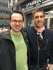 Fede con Nuno Luz de Portugal