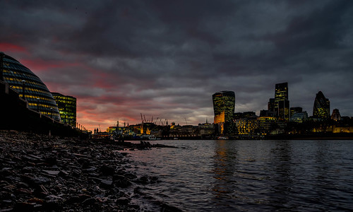 Last Light on the Thames | by Paul Kaye
