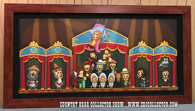 2015 Limited Edition Disney Art Print 'Ensemble' by Daniel Handke - Country Bear Collector Show #015