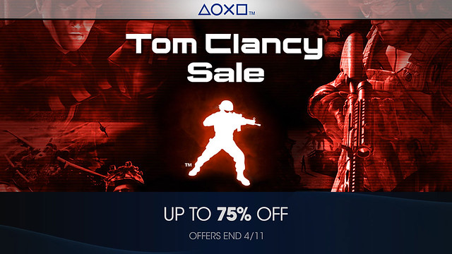 Franchise Sale - Tom Clancy - PlayStation Blog