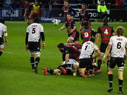 Edinburgh Rugby 29:0 Zebre Rugby Parma (Pro 12)