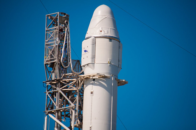 SpaceX Falcon9 at Launch Complex 40