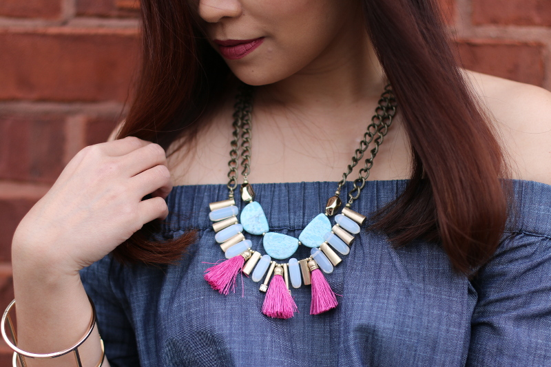 lydell tassel necklace